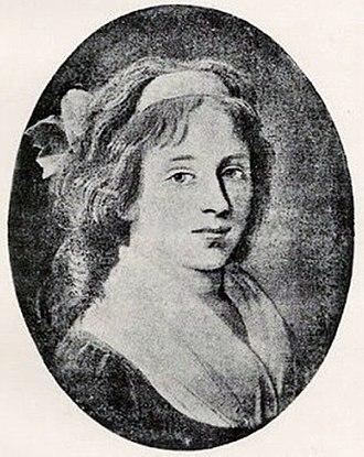 Elisabeth Duplay  épouse de Philippe Le Bas