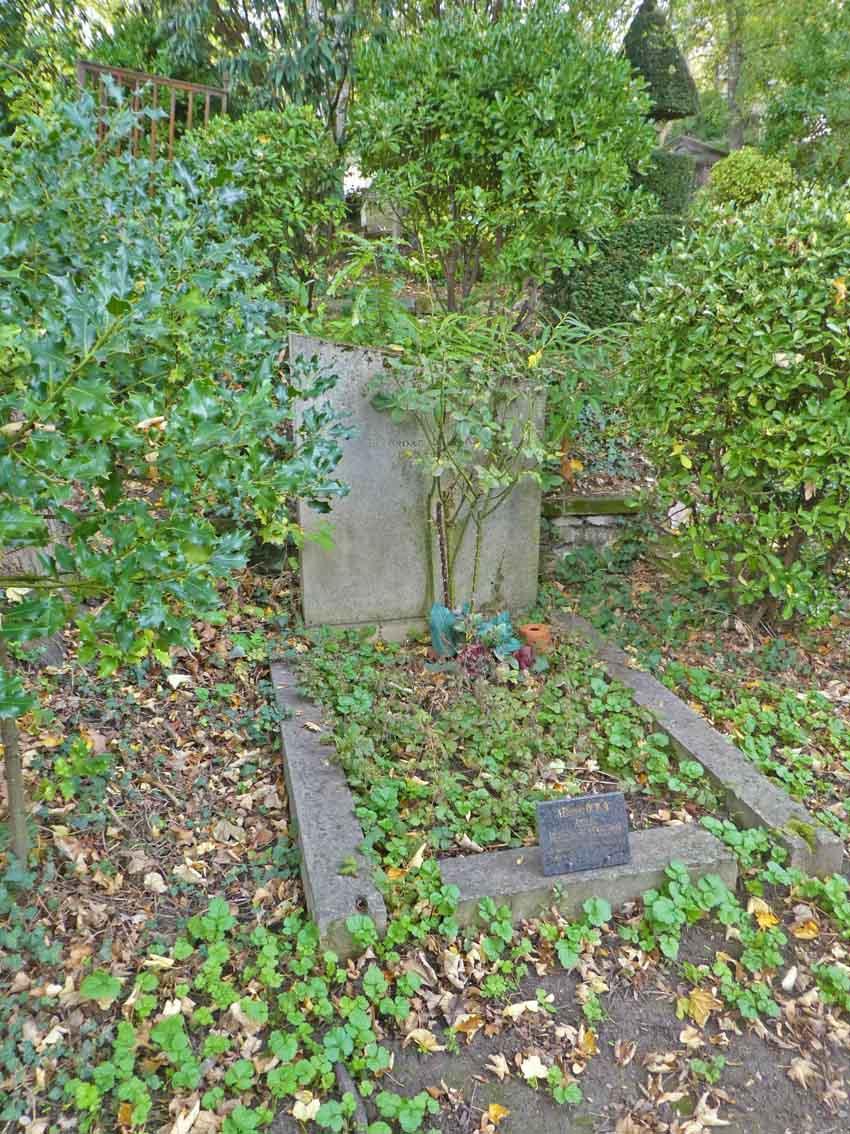 Tombe de la famille Duplay  en 2029