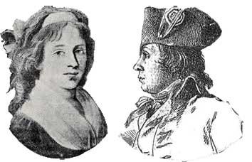 Un amour en l'An II : Elisabeth Duplay et Philippe Le Bas.